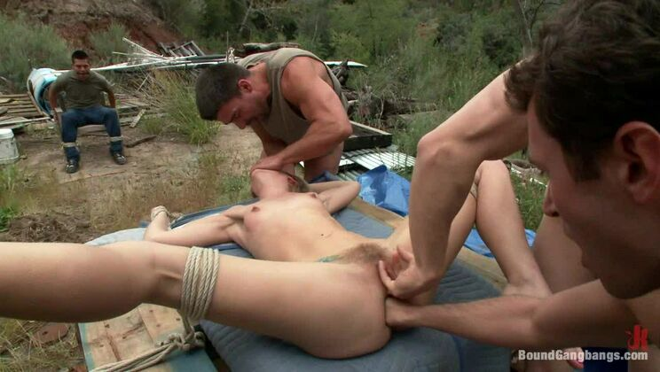 """""""The Best Nightmare on Earth"""" Featuring Chastity Lynn in her First Released Gangbang"""