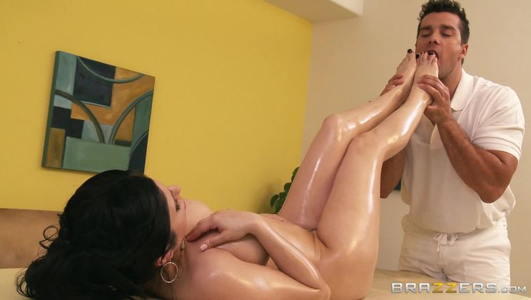 Oily Tits And Fuckable Feet