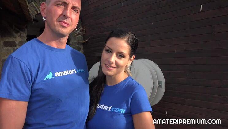 Czech amateurs couple Milena and Michal